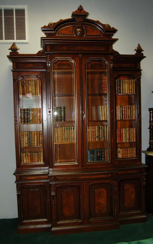 5064 19th C. American Renaissance Revival 4-Door Bookcase