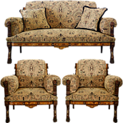 5266 3-Pc. American Victorian Parlor Set c. 1885