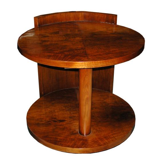 5467 Fabulous Round Art Deco Center Table