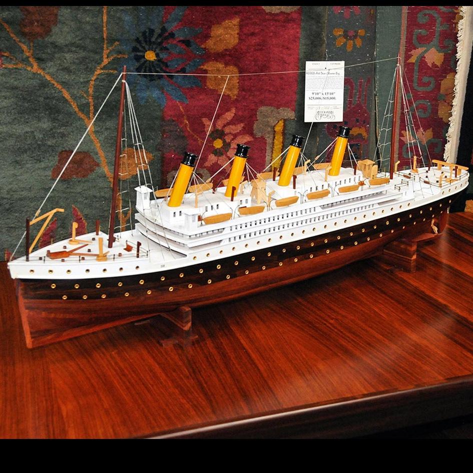 5508 Fantastic Model of the Titanic c. 1920