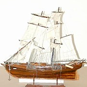 5511C Fantastic 19th C. Galleon Ship Model