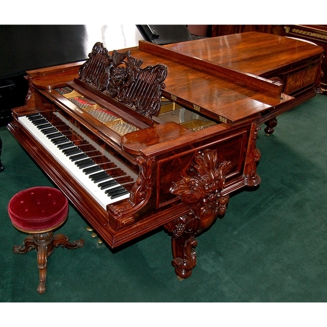 "5532 Antique Steinway Fancy ""D"" Grand Piano"