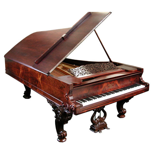 "5533 Magnificent Antique Steinway Fancy ""D"" Grand Piano"