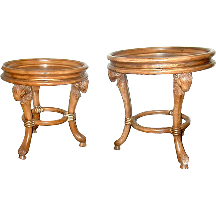 5607 Pair of Matching Side Tables