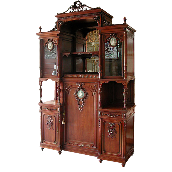 5797 French Cabinet with Wedgwood Plaques