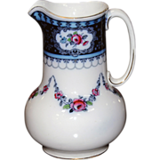 5826 English Porcelain Wash Pitcher