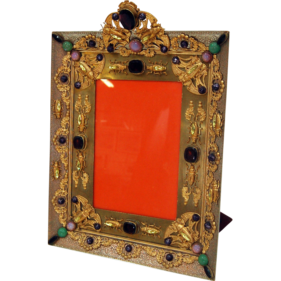 5947 Antique Bronze Picture Frame
