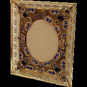 6068 Antique Bronze Picture Frame