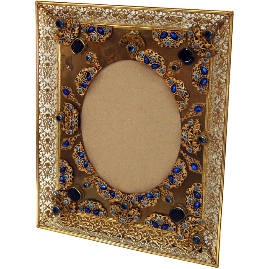 6068 Antique Bronze Picture Frame