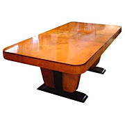 6133 Beautiful Art Deco Table c. 1930
