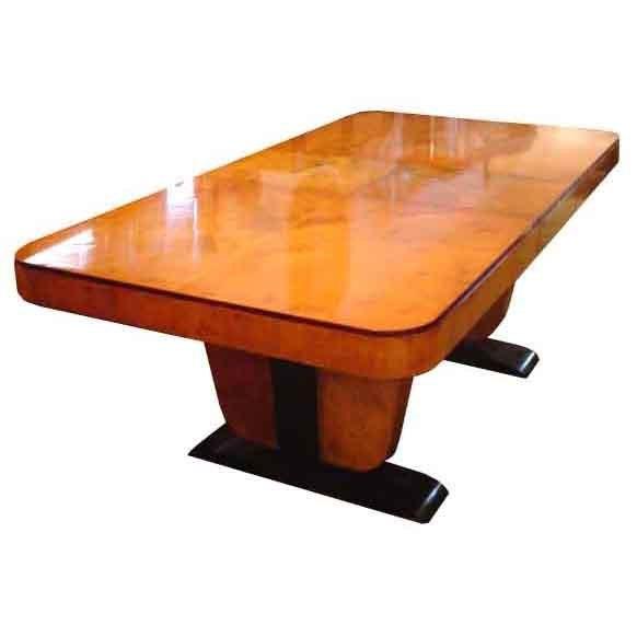 6133 Beautiful Art Deco Table c. 1930