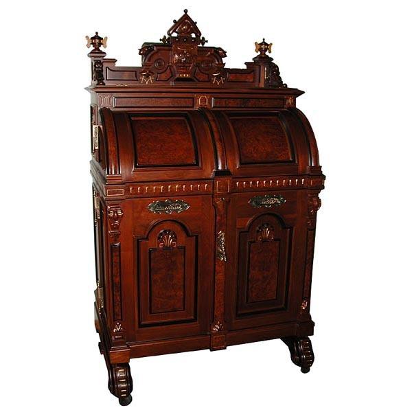 5675 Wooton Extra Grade Patent Secretary Desk