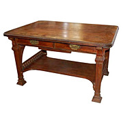 6412 American Victorian Rosewood Partners Desk by Herter