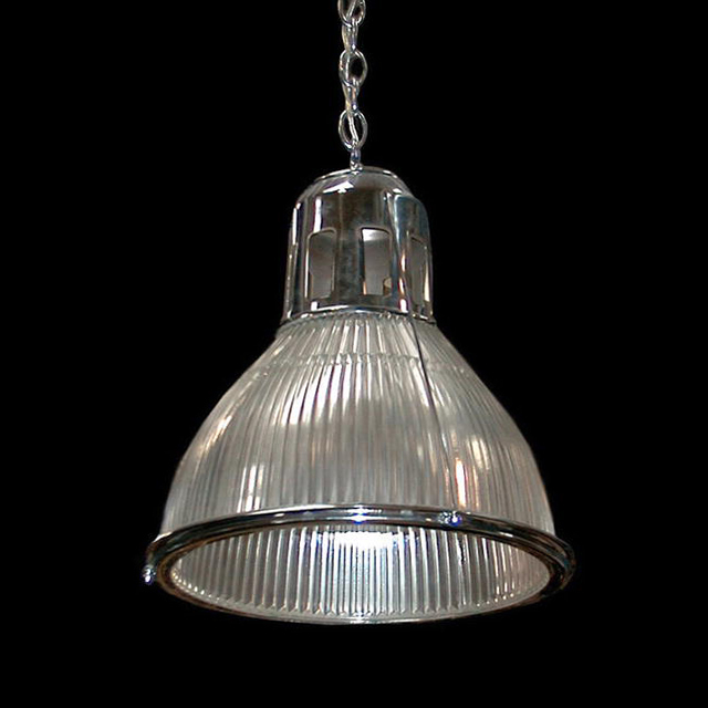 6461 Fantastic Holophane Light Fixture in Nickle or Bronze