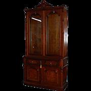6597 19th C. American Bookcase-Secretary Desk