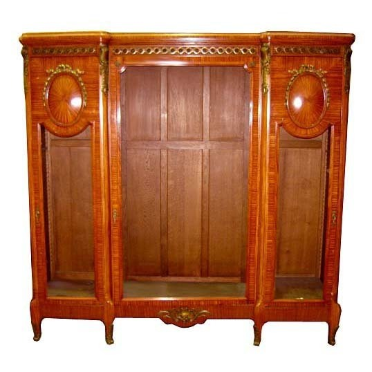 6630 Fabulous French Empire Style Bookcase