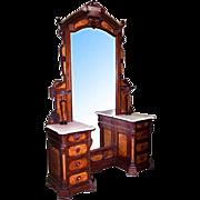 6747 19th C. American Victorian Dresser by Thomas Brooks