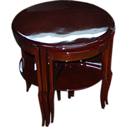 6811 Nest of Four Art Deco Tables c.1920