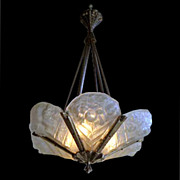 6819 Art Deco Light by Jean Noverdy