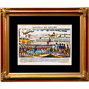 """6867 Napoleon Print - """"Bataille De Lutzen"""""""
