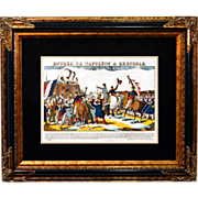 "6871 Napoleon Print - ""Entree De Napoleon A Crenoble"""