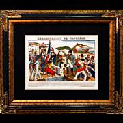 "6872 Napoleon Print - ""Debarquement De Napoleon"""