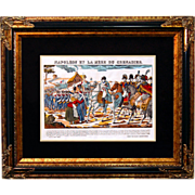 "6874 Napoleon Print - ""Napoleon Et La Mere Du Grenadier"""