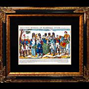 "6875 Napoleon Print - ""Derniers Momens Du Marechal Duroc"""