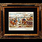 "6877 Napoleon Print - ""Bataille D'Iena"""
