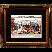 "6878 Napoleon Print - ""Bataille De Wagram"""