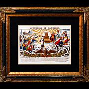 """6879 Napoleon Print - """"Apotheose De Napoleon"""""""