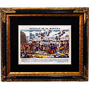 "6880 Napoleon Print - ""Bataille De La Moscowa"""
