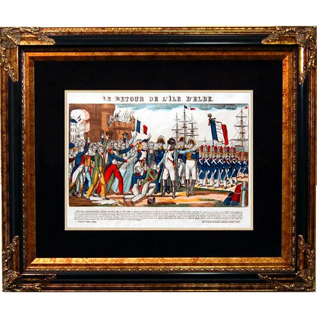 """6882 Napoleon Print - """"Le Retour De L'ile D'Elbe"""""""