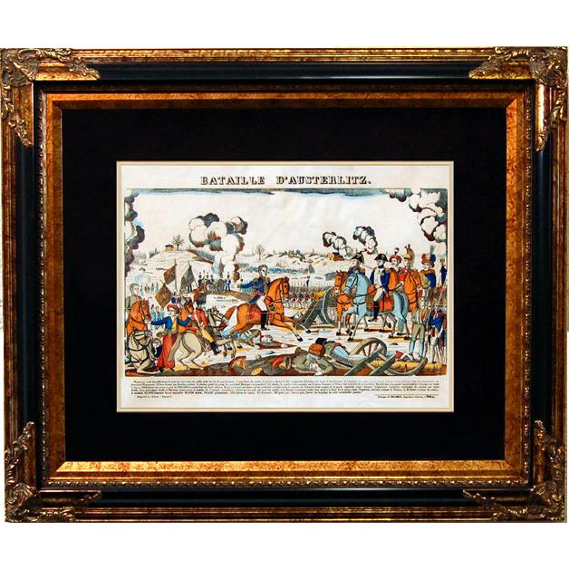"6884 Napoleon Print - ""Bataille D'Austerlitz"""