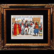 """6885 Napoleon Print - """"Bonaparte Touchant Les Pestiferes"""""""