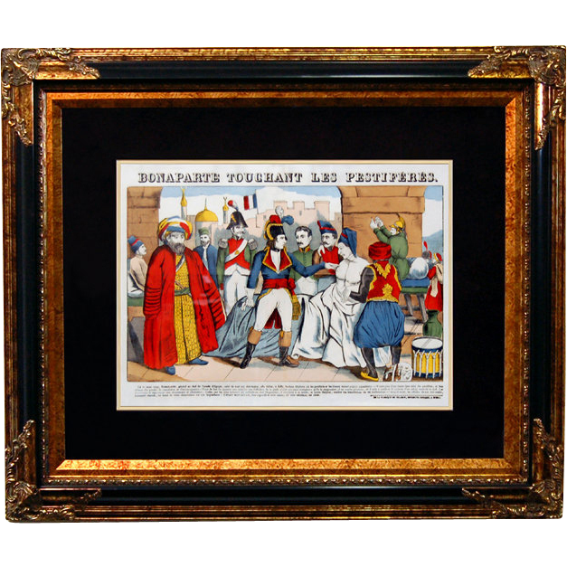 "6885 Napoleon Print - ""Bonaparte Touchant Les Pestiferes"""