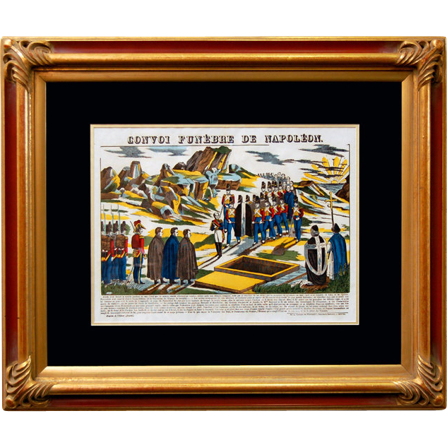 "6887 Napoleon Print - ""Convoi Funebre DeNapoleon"""