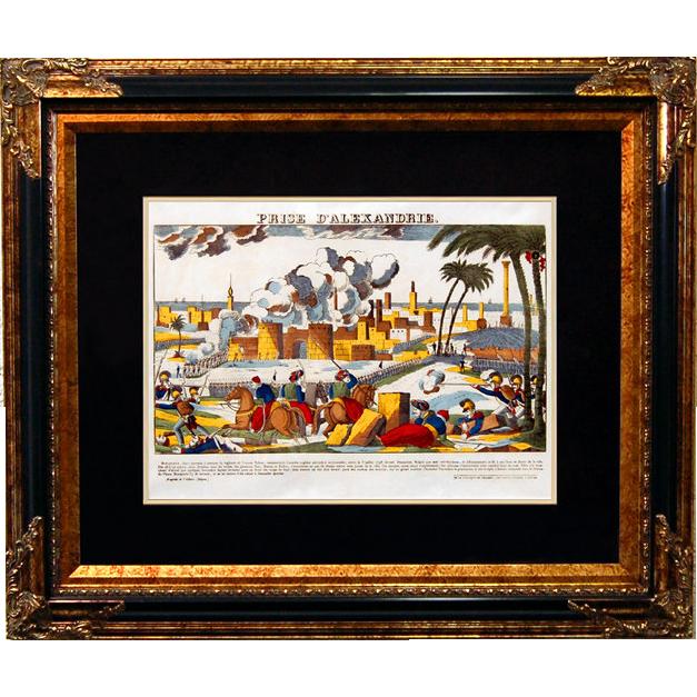"""6888 Napoleon Print - """"Prise D'Alexandrie"""""""
