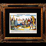 "6889 Napoleon Print - ""Capituation d'Ulm"""