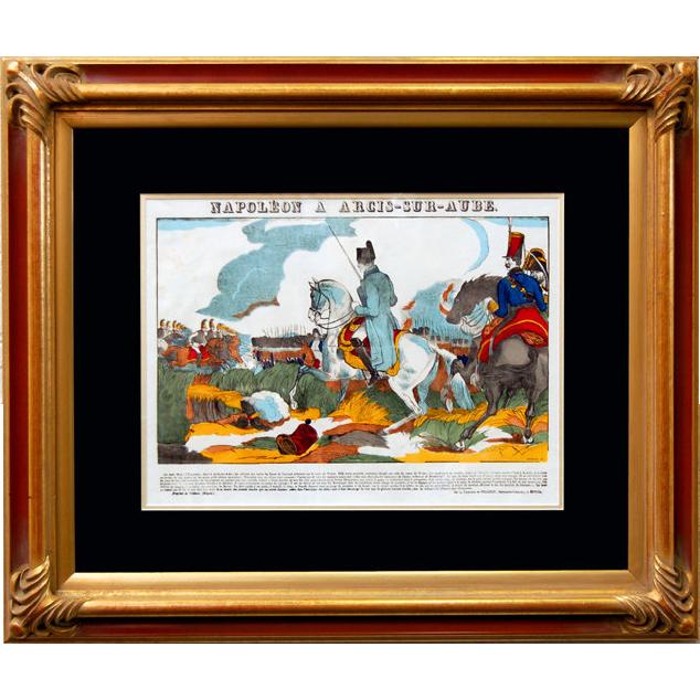 "6891 Napoleon Print - ""Napoleon A Arcis-Sur-Aube"""