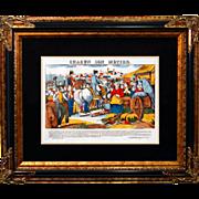 """6892 Napoleon Print - """"Chacun Son Metier"""""""