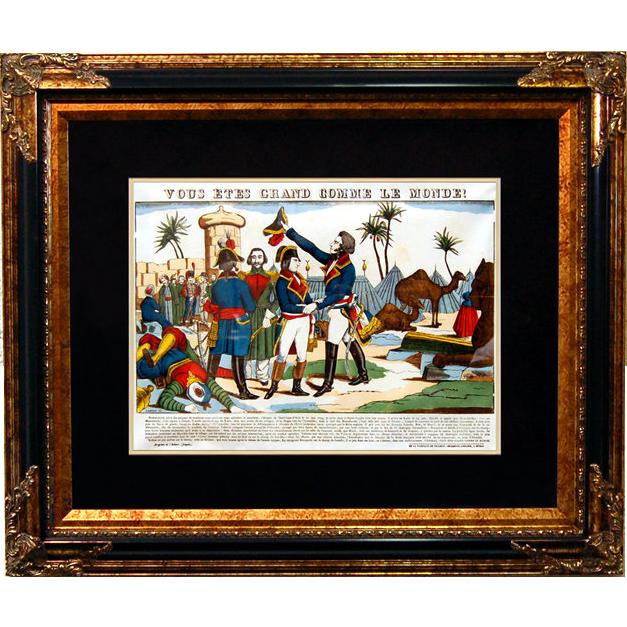 """6893 Napoleon Print - """"Vous Etes Grand Comme Le Monde!"""""""
