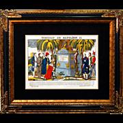 "6896 Napoleon Print - ""Tombeau De Napoleon II"""