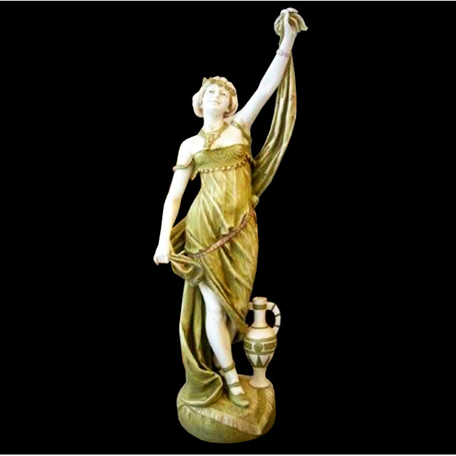 6999 Large Art Nouveau Lady Statue