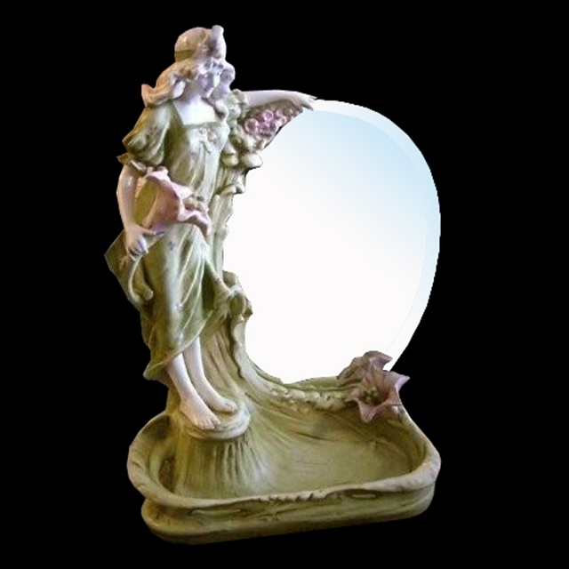 7033 Art Noveau Lady Mirror