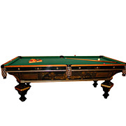 "7137 Brunswick ""Brilliant Novelty"" Pool Table"