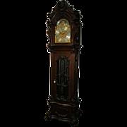7165 Monumental R.J. Horner Walnut Grandfather Clock