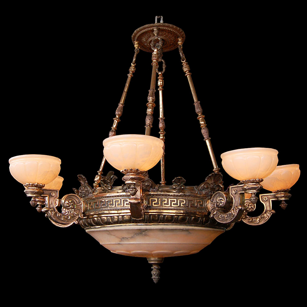 Alabaster lighting chandeliers techieblogiefo antique alabaster chandelier furniture aloadofball Image collections