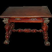 7470 American Square Center Table circa 1880