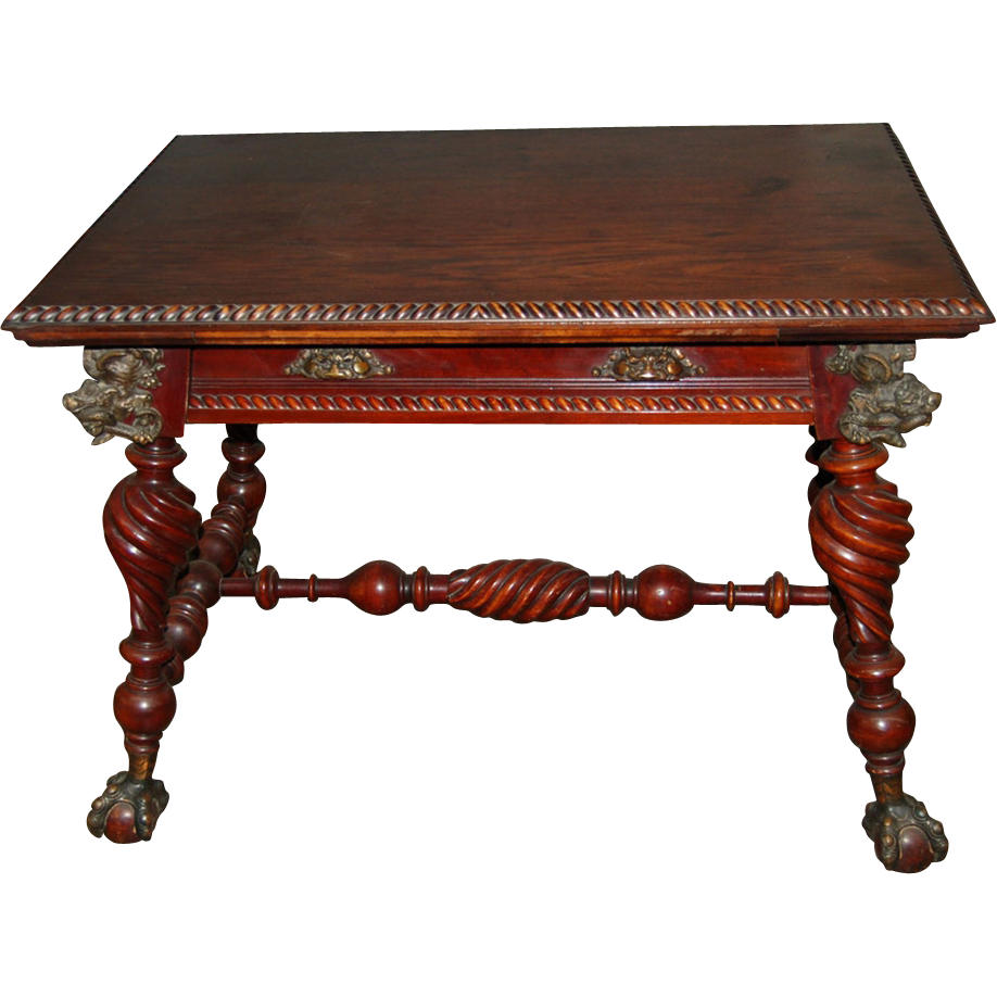 7470 American Square Center Table circa 1880